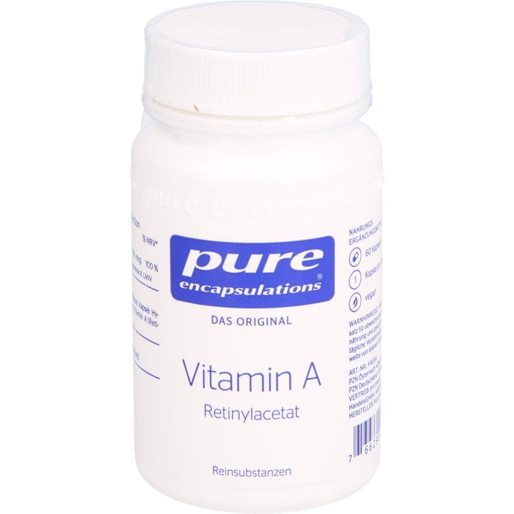 PURE ENCAPSULATIONS Vitamin A Retinylacetat Kaps.