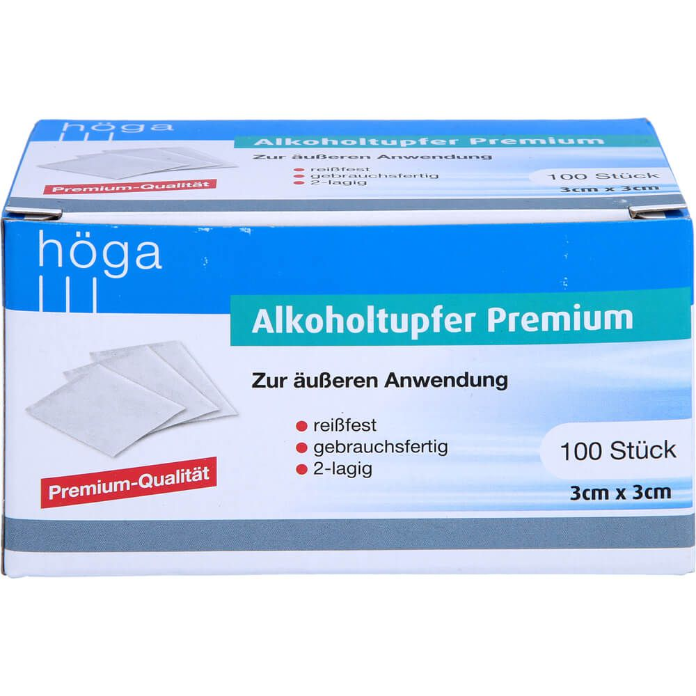 ALKOHOLTUPFER Premium 3x3 cm
