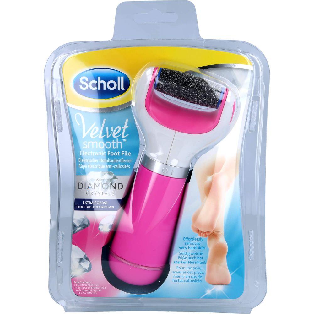 SCHOLL Velvet smooth Expr.Pedi Hornhautentf.pink