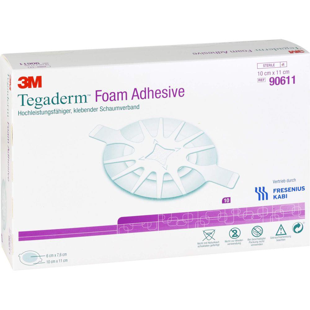 TEGADERM Foam Adhesive 10x11 cm oval 90611