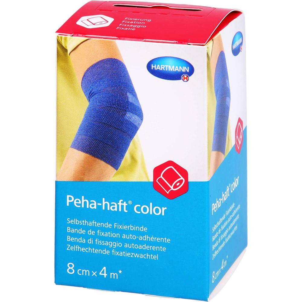 PEHA-HAFT Color Fixierb.latexfrei 8 cmx4 m blau