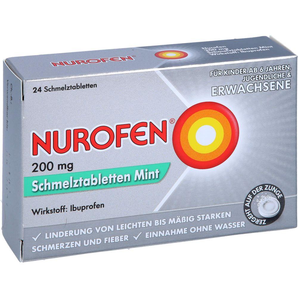 NUROFEN 200 mg Schmelztabletten Mint