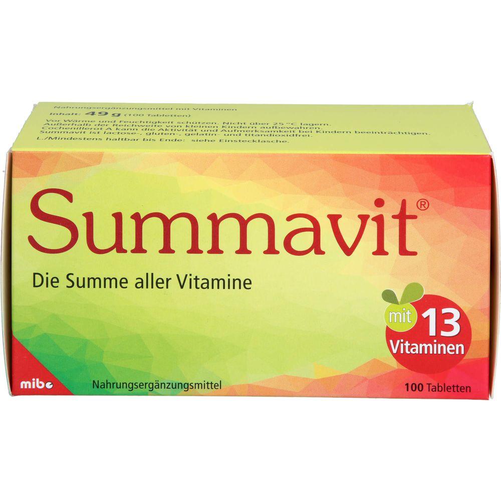 SUMMAVIT Tabletten