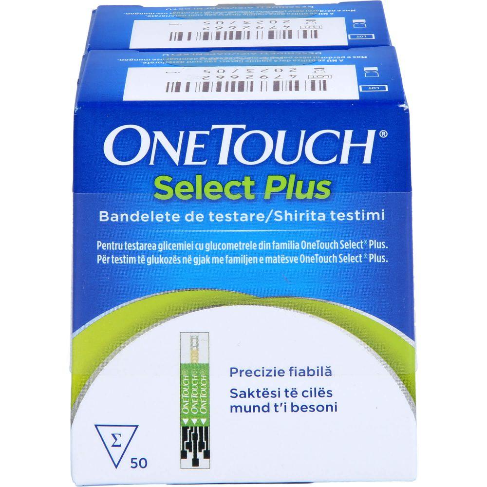 ONE TOUCH Select Plus Blutzucker Teststreifen