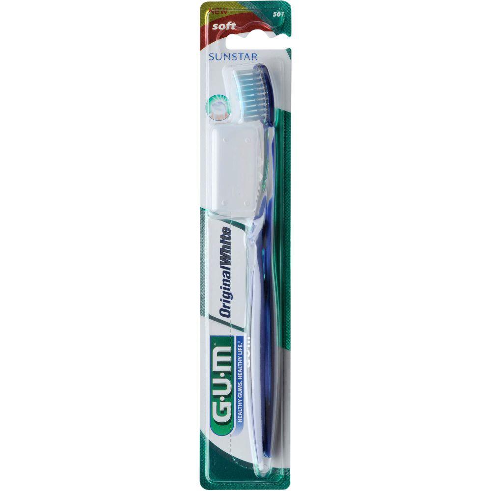 GUM Original White Zahnbürste weich