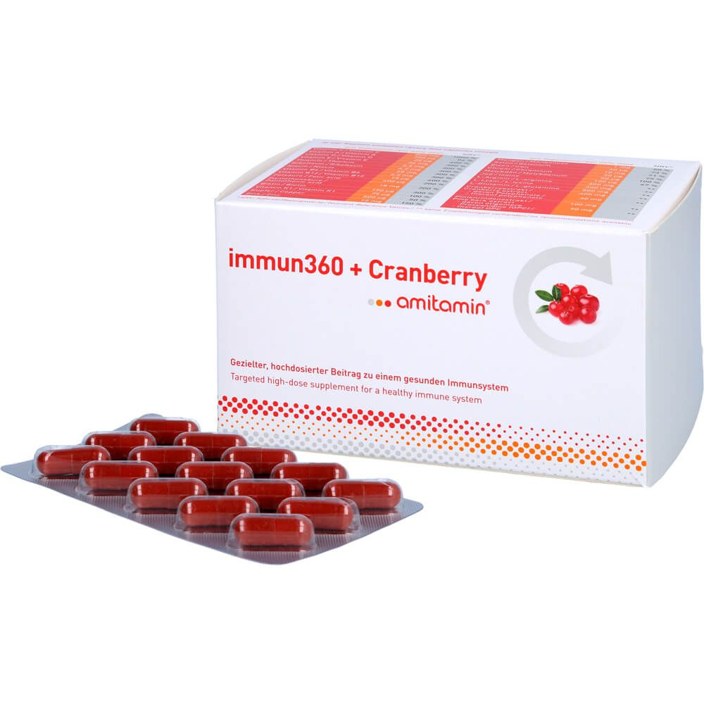 AMITAMIN immun360+Cranberry Kapseln