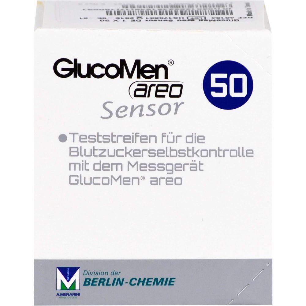 GLUCOMEN areo Sensor Teststreifen