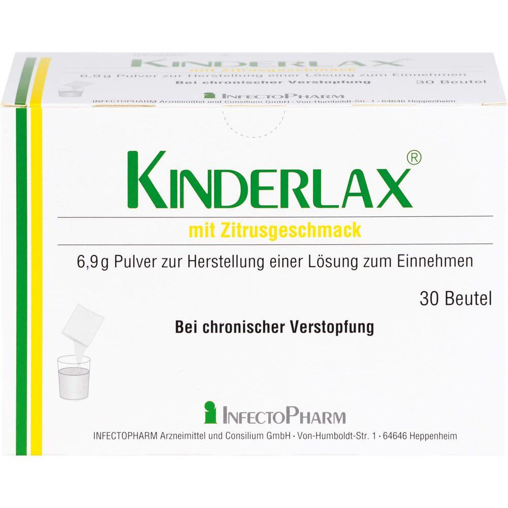 KINDERLAX mit Zitrusgeschmack Plv.z.H.e.L.z.Einn.
