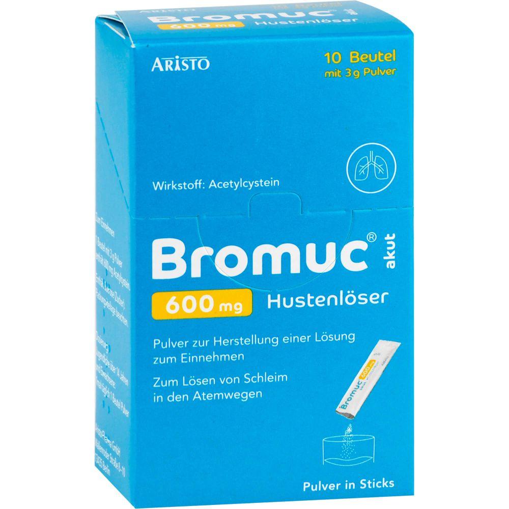 BROMUC akut 600 mg Hustenlöser Plv.z.H.e.L.z.Einn.