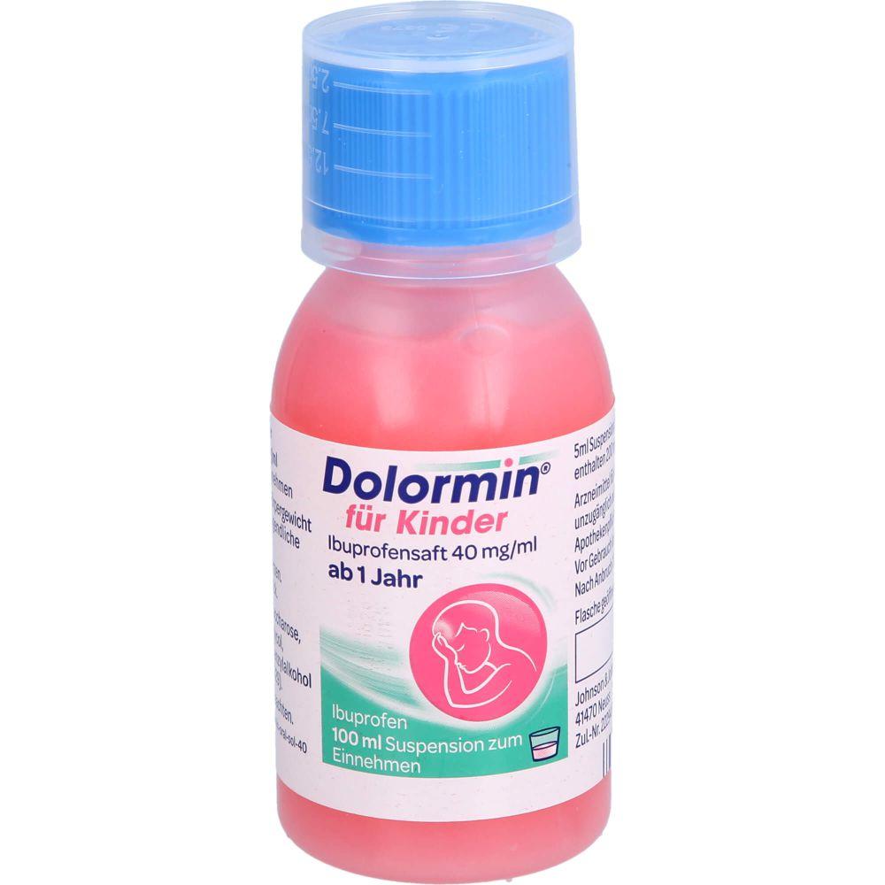 DOLORMIN für Kinder Ibuprofensaft 40 mg/ml Susp.