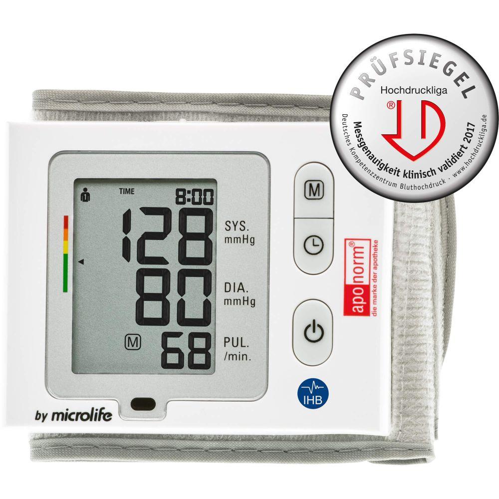 APONORM Blutdruckmessgerät Mobil Slim Handgelenk