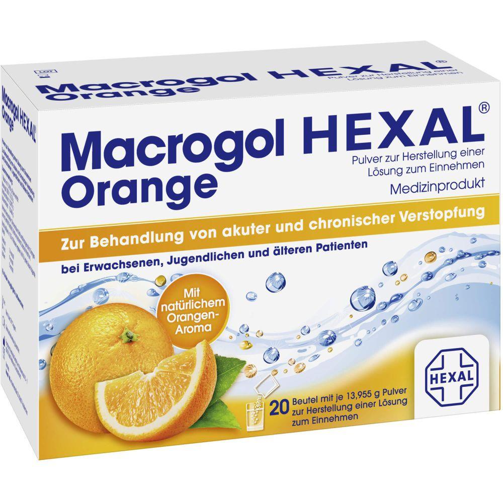 MACROGOL HEXAL Orange Plv.z.Her.e.Lsg.z.Einn.Btl.