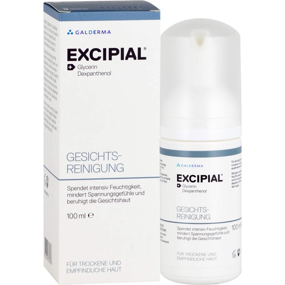 EXCIPIAL Gesichts-Reinigung Schaum