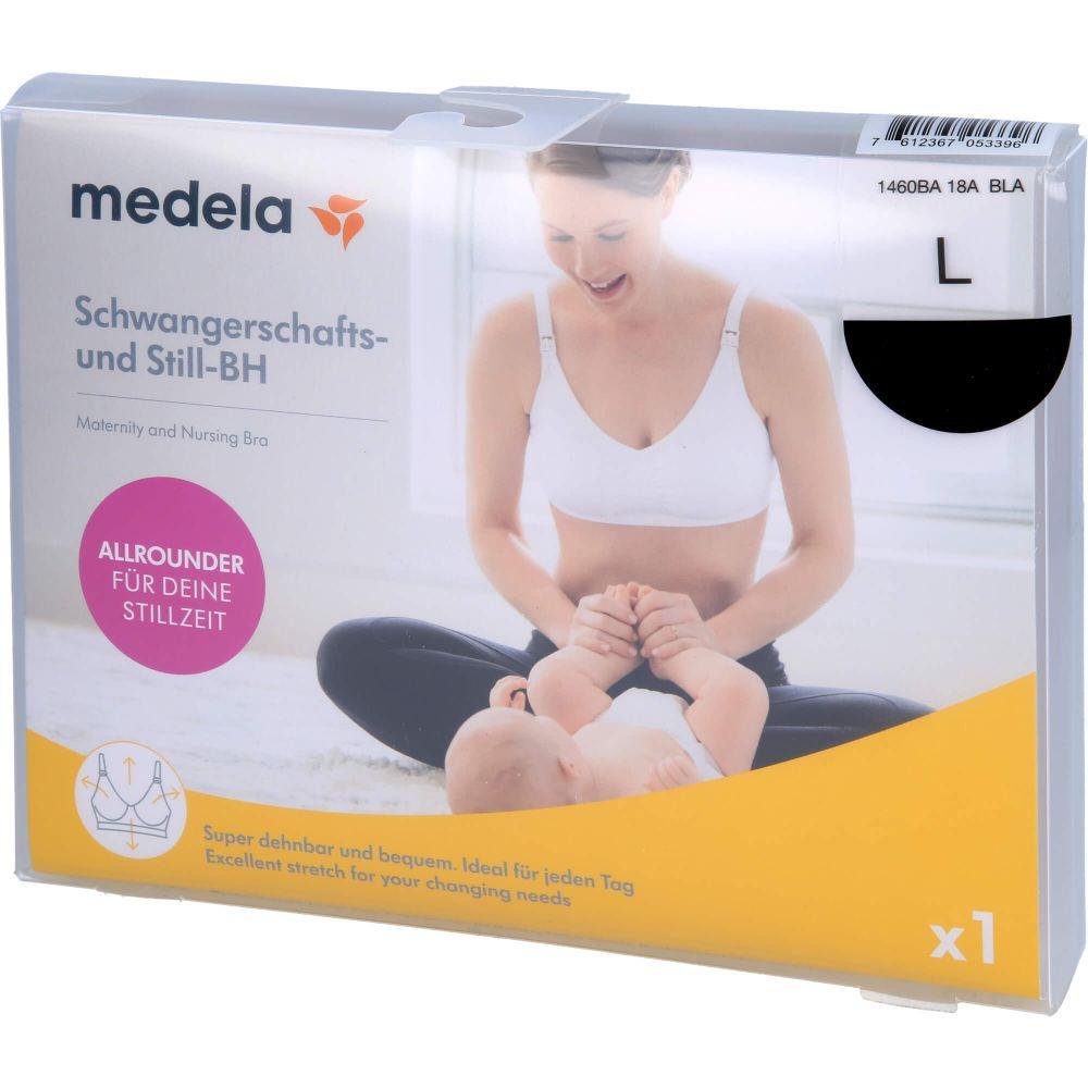 MEDELA Schwangerschafts- u.Still-BH L schwarz