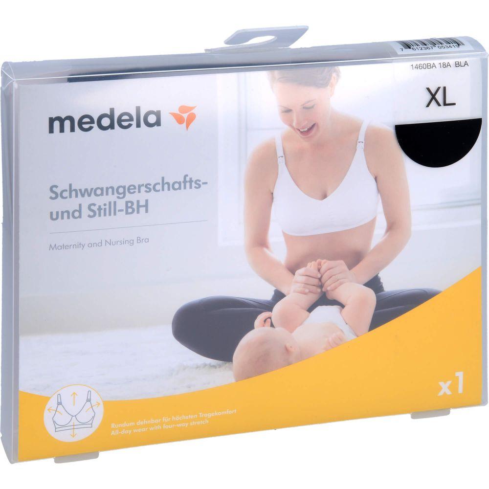 MEDELA Schwangerschafts- u.Still-BH XL schwarz