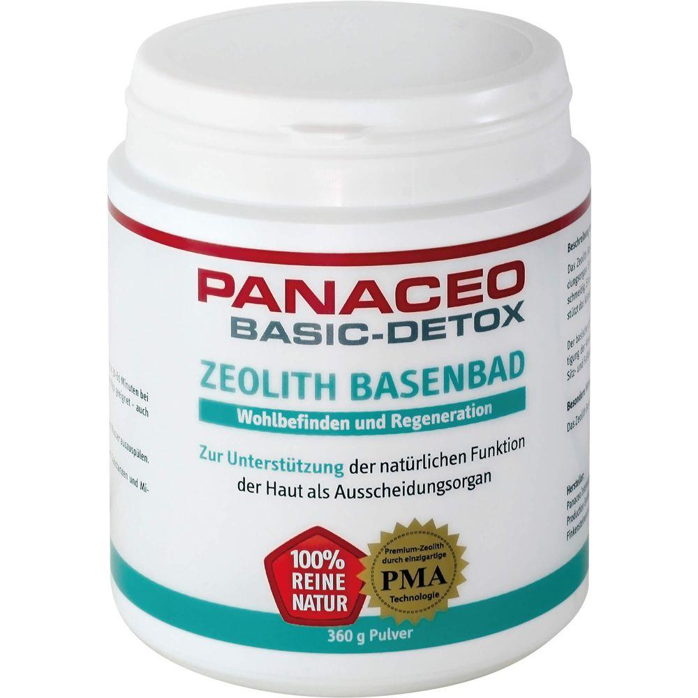 PANACEO Basic-Detox Zeolith Basenbad Pulver