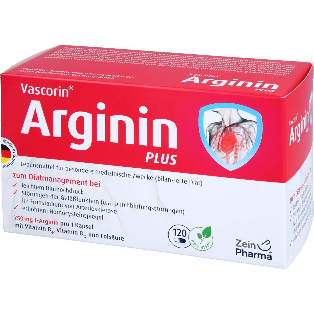 VASCORIN Arginin Plus Kapseln