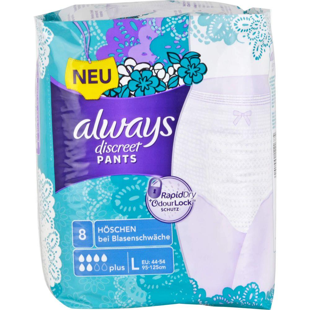 ALWAYS discreet Inkontinenz Pants plus L