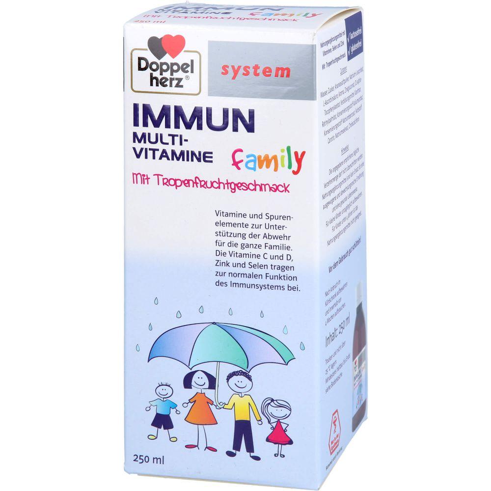 DOPPELHERZ Immun flüssig family system