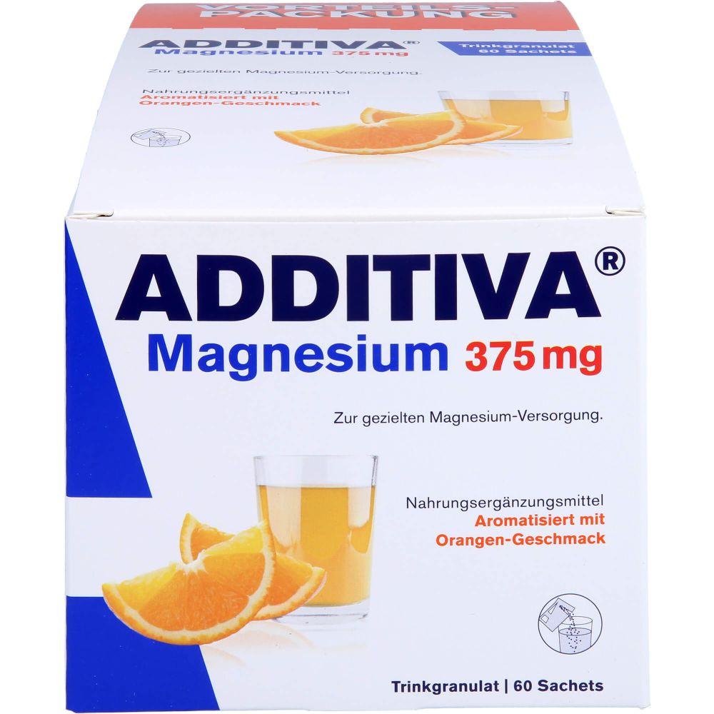ADDITIVA Magnesium 375 mg Sachets