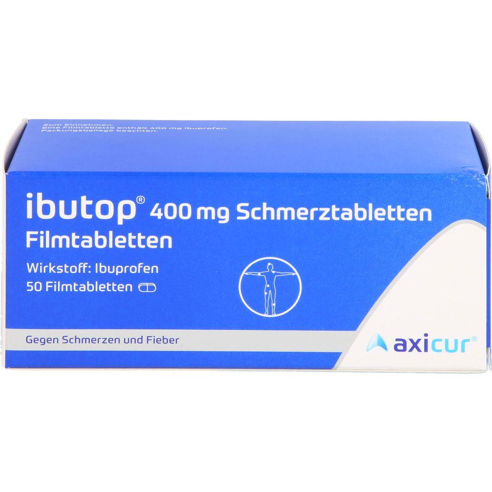 IBUTOP 400 mg Schmerztabletten Filmtabletten