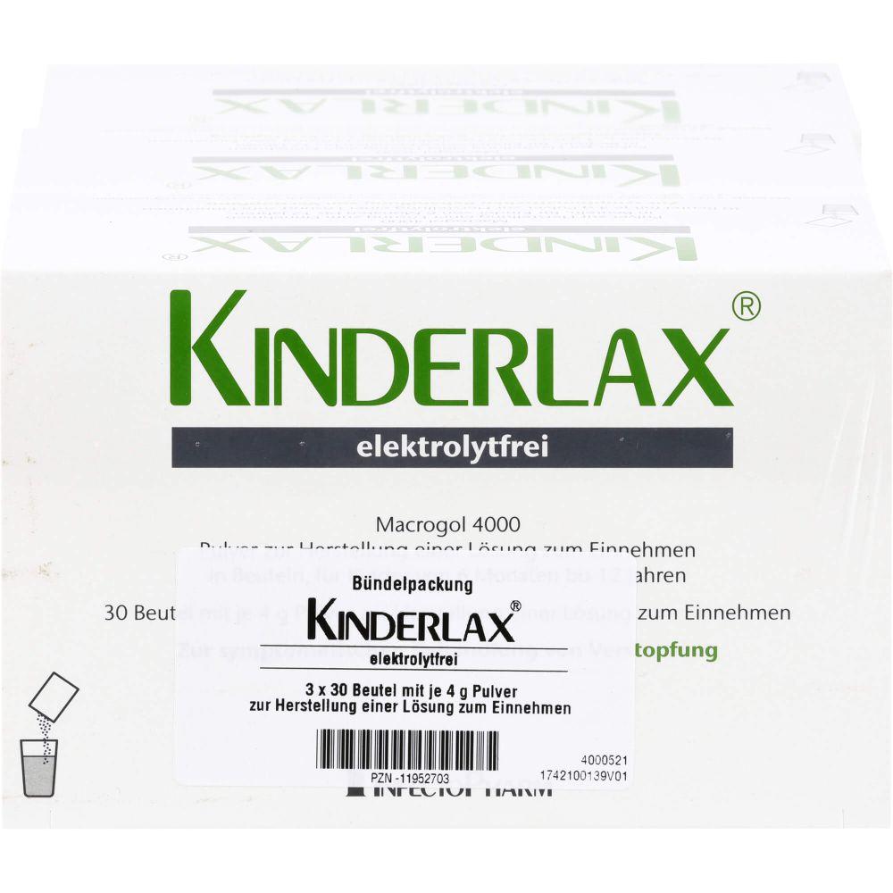 KINDERLAX elektrolytfrei Plv.z.Her.e.Lsg.z.Einn.