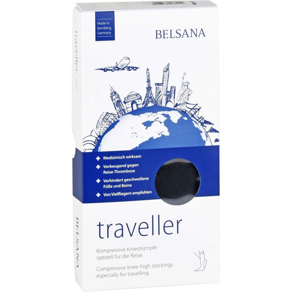 BELSANA traveller AD S schwarz Fuß 1 35-38