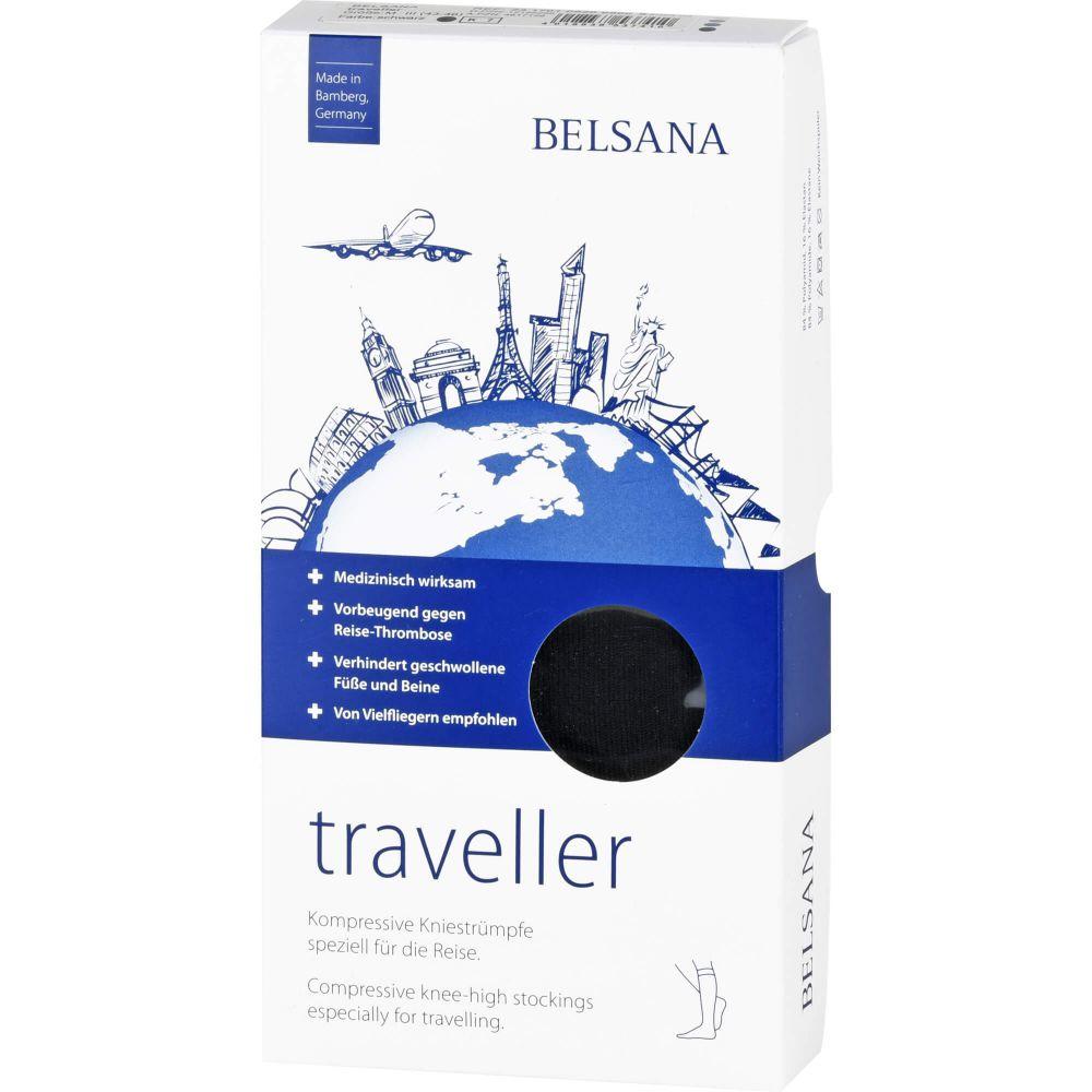 BELSANA traveller AD M schwarz Fuß 3 43-46