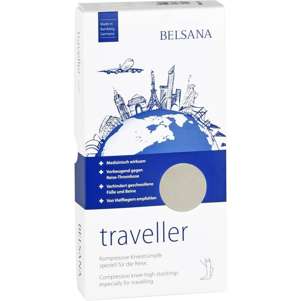BELSANA traveller AD L creme Fuß 4 47-50