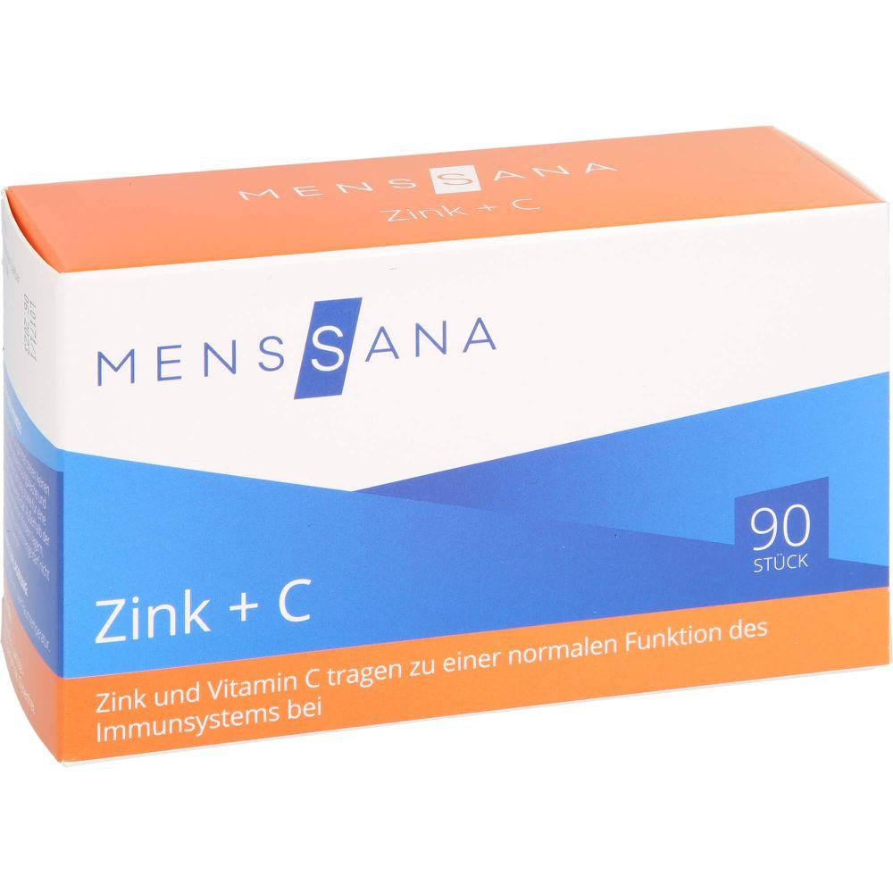 ZINK+C MensSana Lutschtabletten