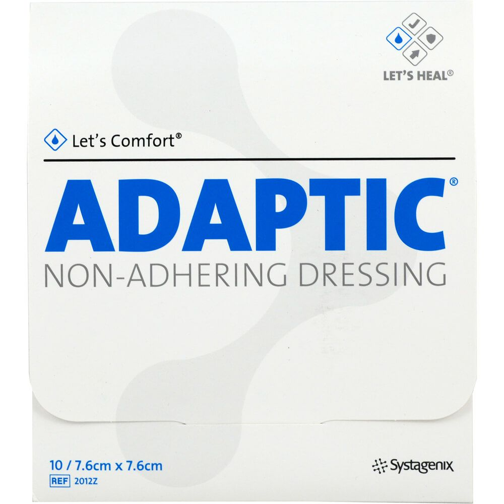 ADAPTIC 7,6x7,6 cm feuchte Wundauflage 2012Z