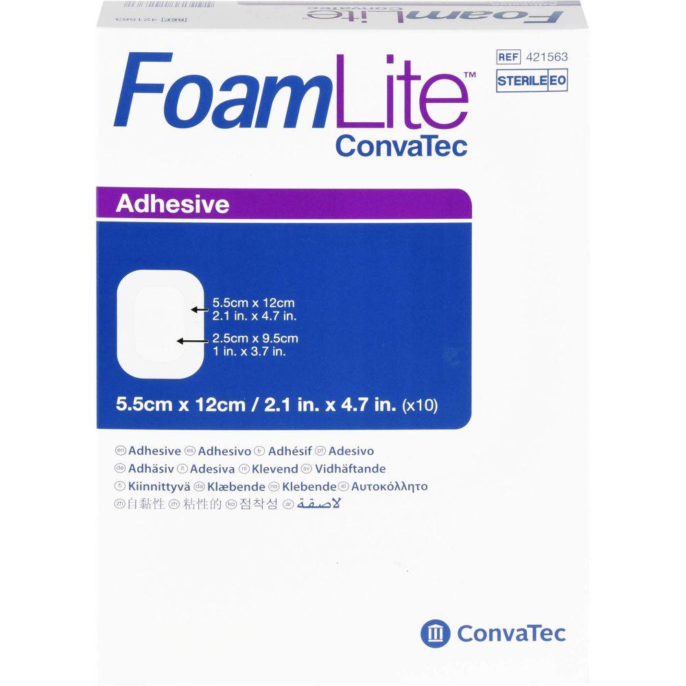 FOAM LITE ConvaTec adhäsiv PU-Schaumverb.5,5x12 cm