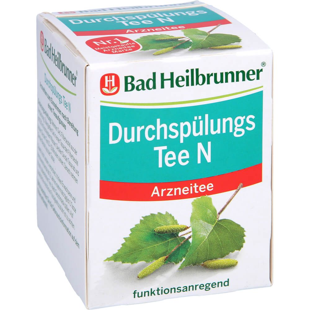 BAD HEILBRUNNER Durchspülungs Tee N Filterbeutel