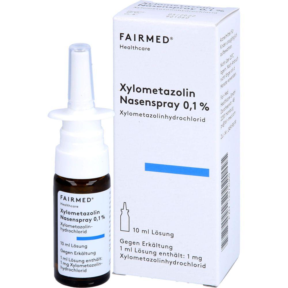 XYLOMETAZOLIN 0,1% Fair-Med Lösung Nasenspray