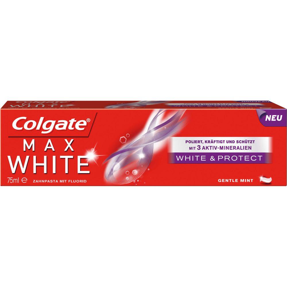 COLGATE Max white white & Protect Zahnpasta