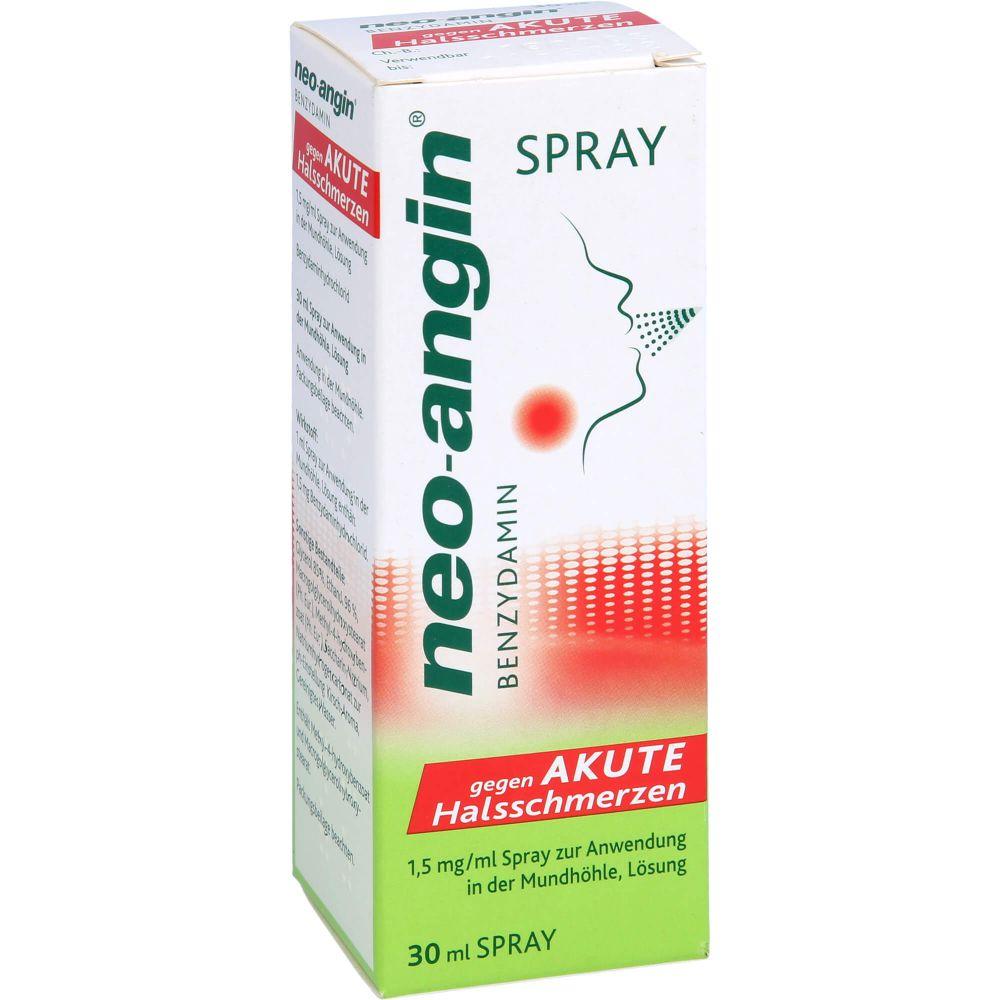 NEO-ANGIN Benzydamin akute Halsschmerzen Spray