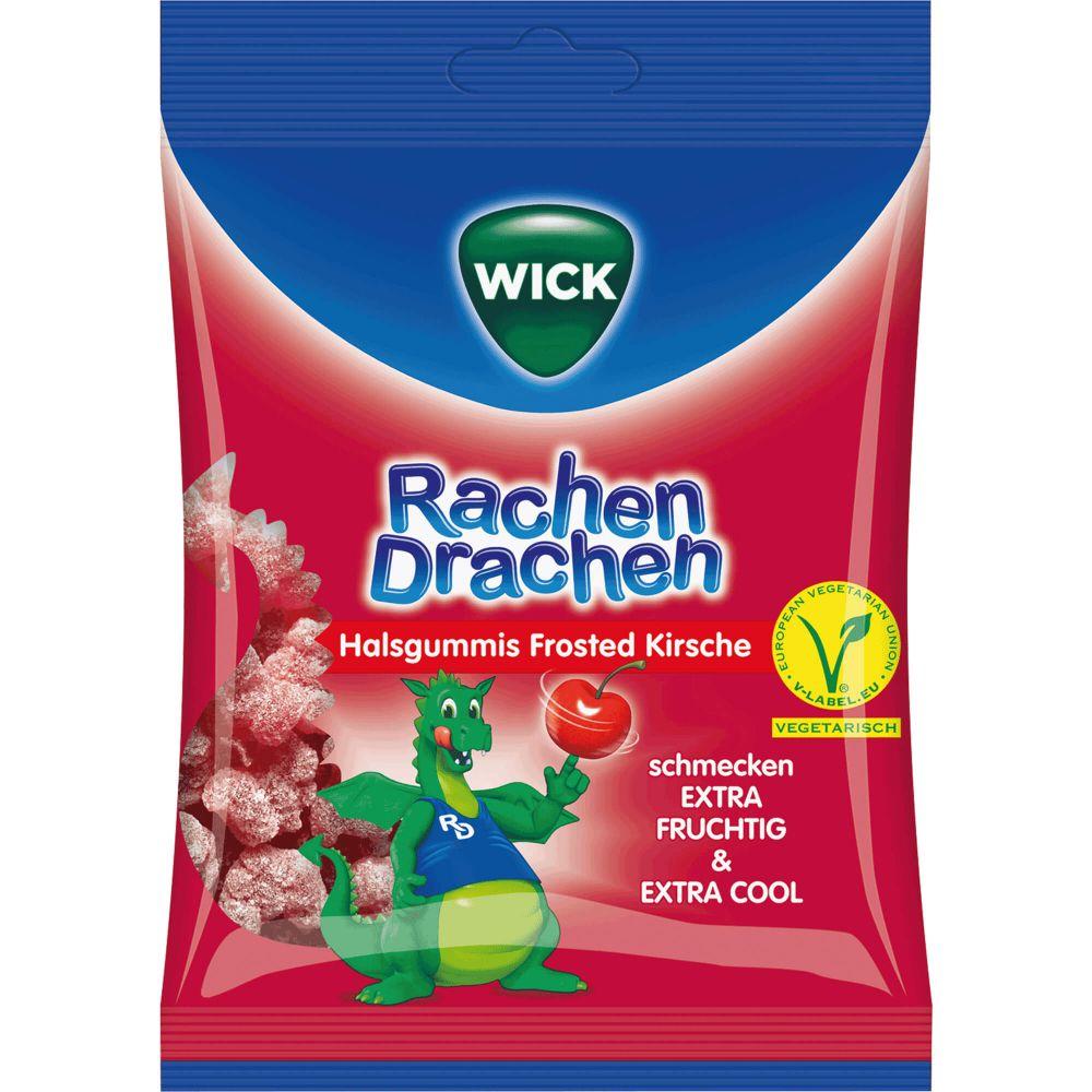 WICK RachenDrachen Halsgummis Kirsche