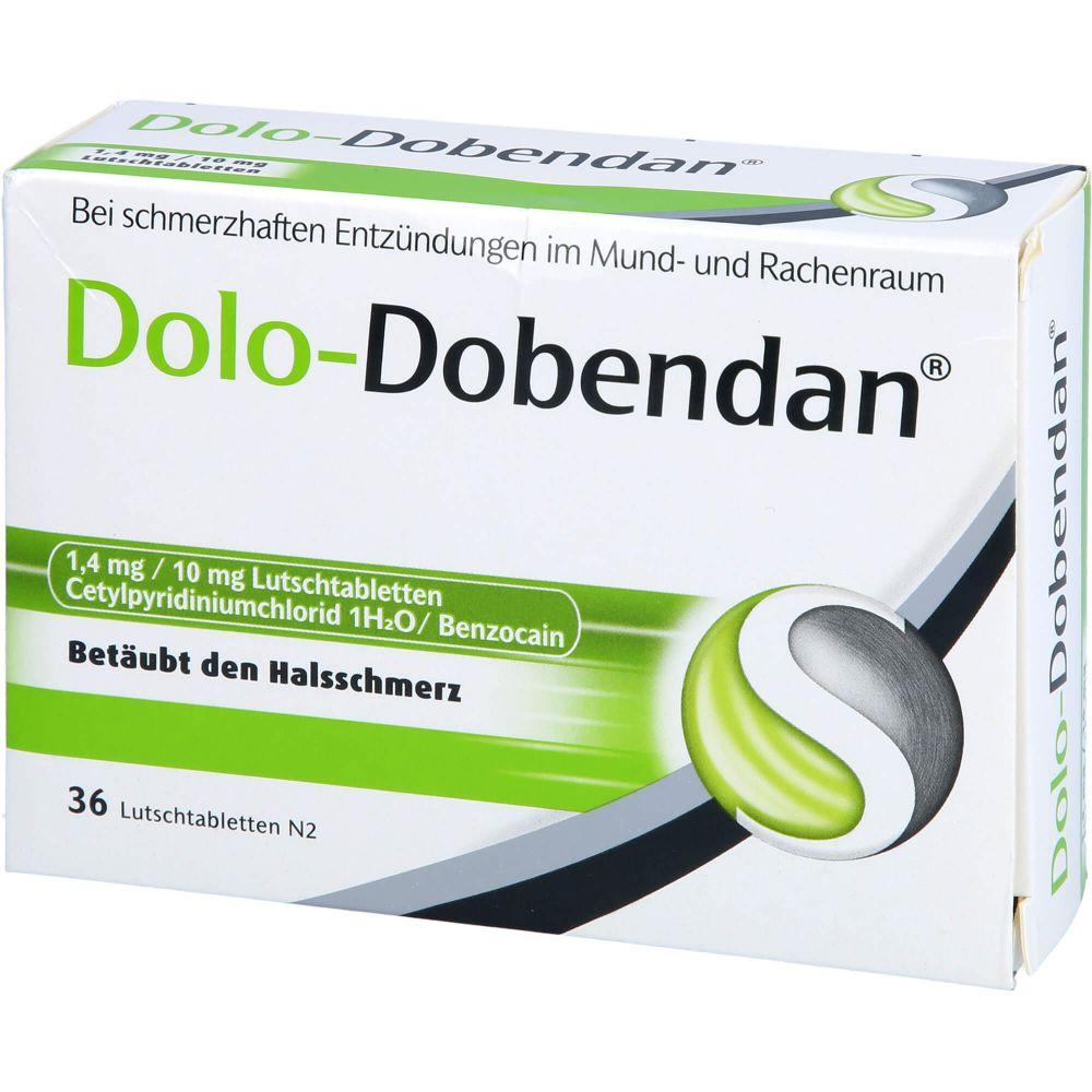 DOLO-DOBENDAN 1,4 mg/10 mg Lutschtabletten