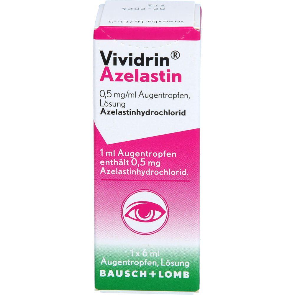 VIVIDRIN Azelastin 0,5 mg/ml Augentropfen