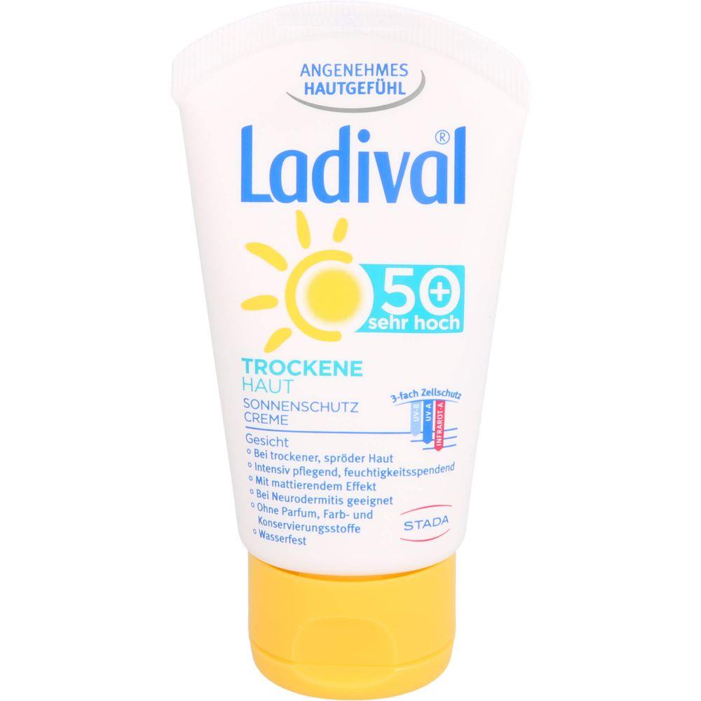 LADIVAL trockene Haut Creme LSF 50+