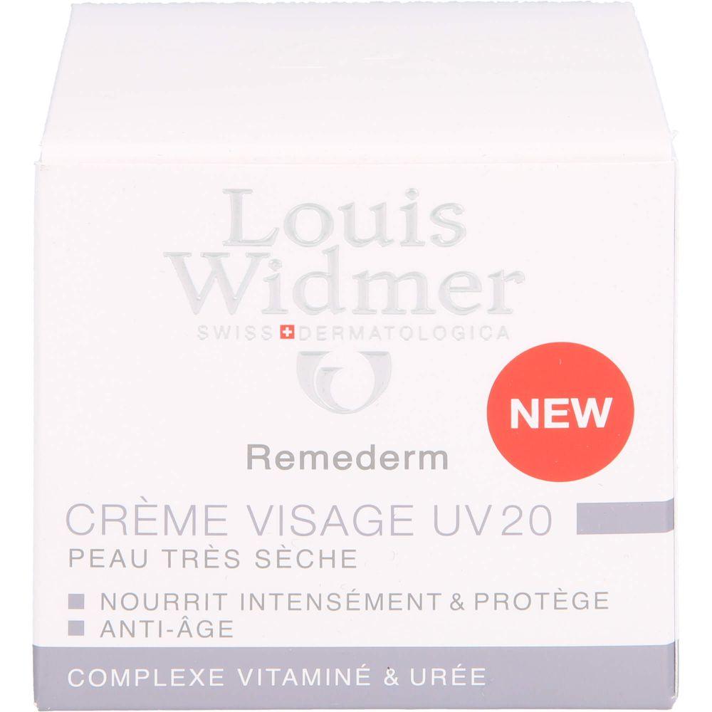 WIDMER Remederm Gesichtscreme UV 20 leicht parfüm.