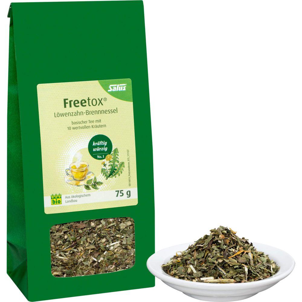 FREETOX Tee Löwenzahn-Brennnessel Bio Salus