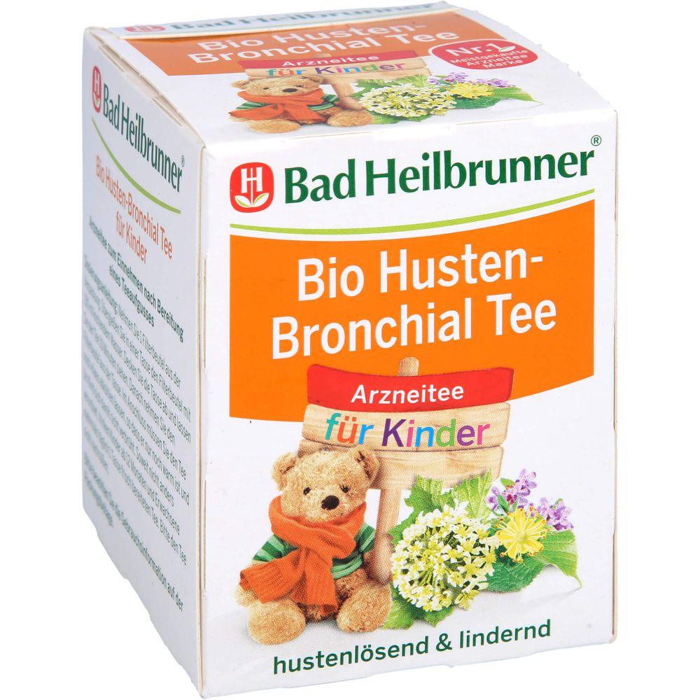 BAD HEILBRUNNER Bio Husten-Bronchial Tee f.Kinder