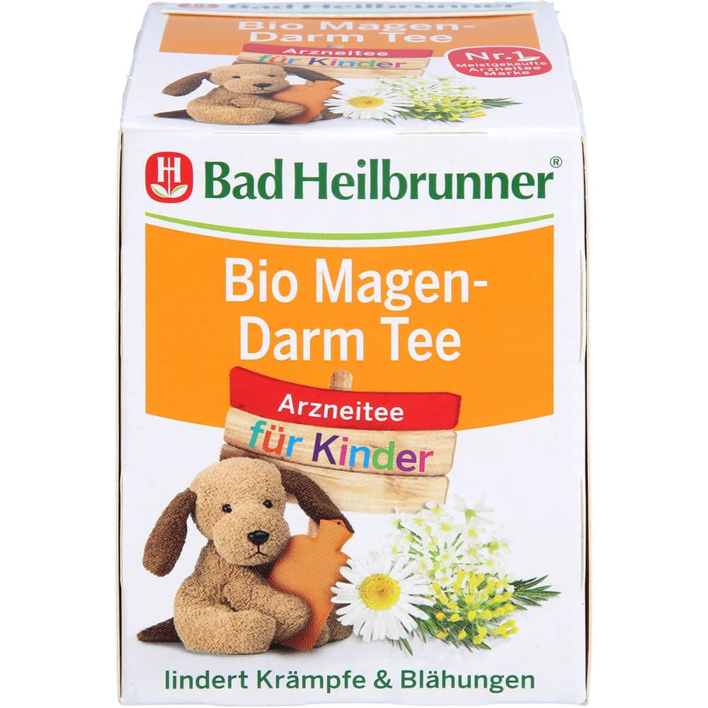 BAD HEILBRUNNER Bio Magen-Darm Tee f.Kinder Fbtl.