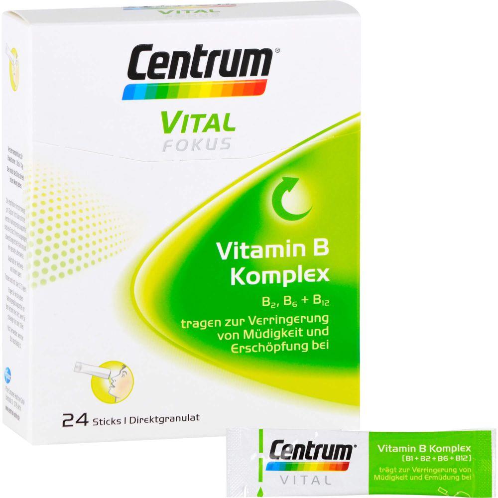 CENTRUM Fokus Vital Vitamin B Komplex Sticks