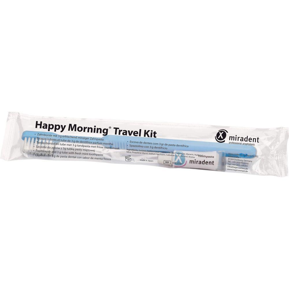 MIRADENT Happy Morning Travel Kit inkl.Zahnpasta
