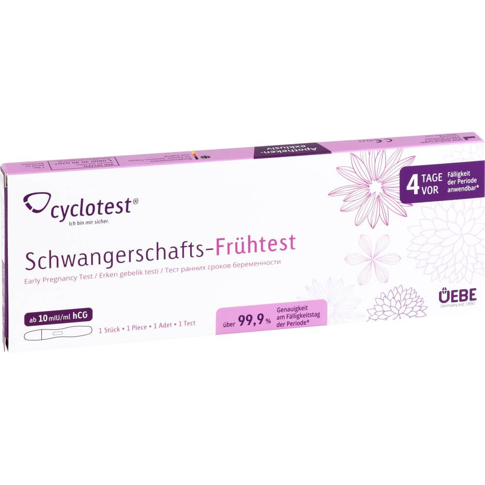 CYCLOTEST Schwangerschafts-Frühtest 10 mlU/ml Urin