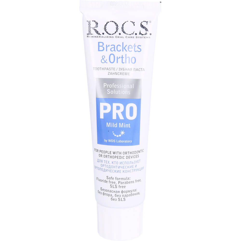 ROCS PRO Brackets & Ortho Zahncreme