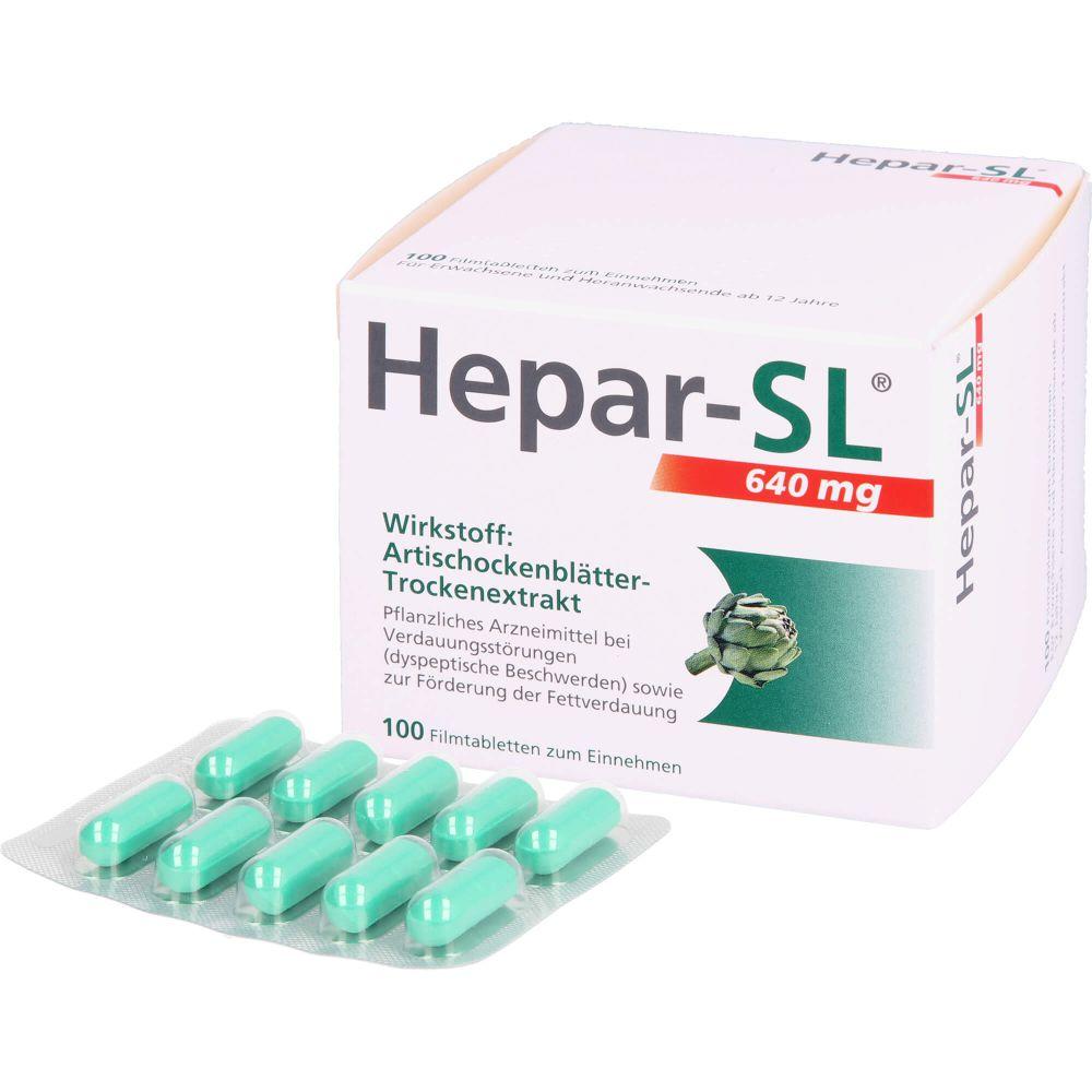 HEPAR-SL 640 mg Filmtabletten