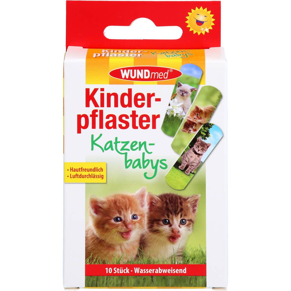 KINDERPFLASTER Katzenbabys